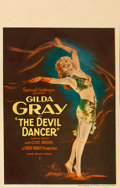 "Movie Posters:Drama, The Devil Dancer (United Artists, 1927). Trimmed Window Card (14"" X 22"").. ..."