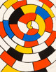Alexander Calder (1898-1976) Spirals, c. 1970 Lithograph in colors on wove paper 25-1/2 x 19-3/4 inches (64.8 x 50.2...