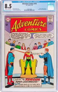 Adventure Comics #316 (DC, 1964) CGC VF+ 8.5 Off-white to white pages