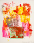 Prints & Multiples, Robert Rauschenberg (1925-2008). Storyline II, from Reels (B+C), 1968. Lithograph in colors on wove paper. 22 x 18 i...