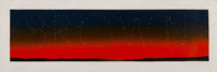 Ed Ruscha (b. 1937) It's in the Stars, 1978 Silkscreen in colors on wove paper 17-1/8 x 50 inches