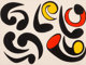 Alexander Calder (1898-1976) Autres Têtards, 1976 Lithograph in colors on wove paper 22-7/8 x 30-3/4 inches (58.1...