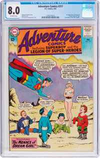 Adventure Comics #317 (DC, 1964) CGC VF 8.0 Off-white pages