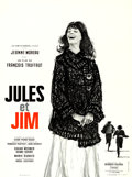 """Movie Posters:Foreign, Jules and Jim (Les Films du Carrosse, 1961). French Moyenne (23.5""""X 31.5""""). Christian Broutin Artwork.. ..."""