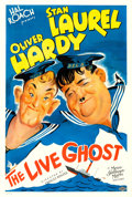 """Movie Posters:Comedy, The Live Ghost (MGM, 1934). One Sheet (27"""" X 41"""") Bela ReigerArtwork.. .. ..."""