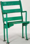 Baseball Collectibles:Others, Green Stadium Seat, Vintage?. ...