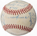 Autographs:Baseballs, 1967 Baltimore Orioles Team Signed Baseball (24 Signatures).. ...