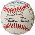 Autographs:Baseballs, Cracker Jack Old Timers Baseball Classic Multi-Signed Baseball (16 Signatures) with Roger Maris.. ...