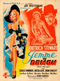 "Movie Posters:Western, Destry Rides Again (Universal, 1945). First Post-War Release French Grande (47.5"" X 63"") Constantin Belinsky Artwork.. ..."