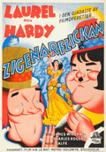 "Movie Posters:Comedy, The Bohemian Girl (MGM, 1936). Swedish One Sheet (27.5"" X 39.5"")....."
