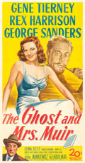 """Movie Posters:Romance, The Ghost and Mrs. Muir (20th Century Fox, 1947). Three Sheet (41"""" X 79"""").. ..."""