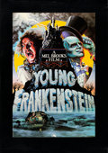 """Movie Posters:Comedy, Young Frankenstein (20th Century Fox, 1974). Autographed Poster(34.5"""" X 49"""") with COA, Style B, John Alvin Artwork.. ..."""