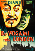 "Movie Posters:Horror, Werewolf of London (Universal, 1935). Swedish One Sheet (27.5"" X 39.5"") Fuchs Artwork.. ..."