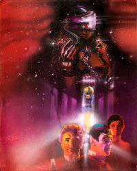 "Star Trek II: The Wrath of Khan by Bob Peak (Paramount, 1982) Original Mixed Media Concept Artwork (32"" X 40"")..."