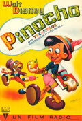 "Movie Posters:Animation, Pinocchio (RKO, 1944). Full-Bleed Spanish One Sheet (26.75"" X 39"")Ramón Artwork.. ..."