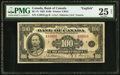 Canadian Currency, BC-15 $100 1935.. ...