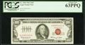 Small Size:Legal Tender Notes, Fr. 1550 $100 1966 Legal Tender Note. PCGS Choice New 63PPQ.. ...
