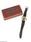 Memorabilia:Comic-Related, Dick Tracy Wrist Watch in Box (The New Haven Clock Company, 1935). Licensed in 1935 by Paul R. Gruen, Inc., for the New Have...