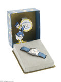 Memorabilia:Miscellaneous, Donald Duck Wrist Watch with Pop-Up Box (Ingersoll, circa 1950). One of the most challenging areas of Disneyana collecting r...