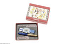 "Memorabilia:Miscellaneous, Jiminy Cricket ""Birthday Series"" Watch and Pen with Box (Ingersoll, 1949). The 1949 Ingersoll line of Disney watches -- ""lum..."