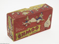 Memorabilia:Comic-Related, Shmoo Wall Clock Box Only (Lux Clock Company, 1948). For serious Li'l Abner collectors who already have a 1948 Lux Clock Com...