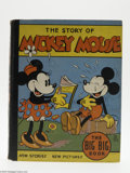 Memorabilia:Miscellaneous, The Story of Mickey Mouse Big Big Book (Whitman, 1934). Published by Whitman and generally considered an extension of their ...