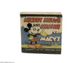 "Memorabilia:Miscellaneous, Mickey Mouse and Minnie at Macy's Giveaway (Whitman, 1934) Condition: FN/VF. Measures 3.5"" x 3.5"" softcover, Big Little Book..."