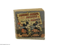 Mickey Mouse and Minnie March to Macy's Giveaway (Whitman, 1935) Condition: VG. The Christmas season in 1935 saw Macy's...