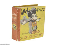 Big Little Book #717 Mickey Mouse (Whitman, 1933) Condition: FN. Collector's will instantly recognize this very rare fir...