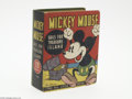 Platinum Age (1897-1937):Miscellaneous, Big Little Book #750 Mickey Mouse Sails for Treasure Island(Whitman, 1933) Condition: NM. Spectacular copy of this wonderfu...