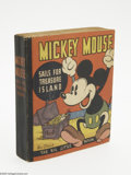 Golden Age (1938-1955):Cartoon Character, Big Little Book #nn Mickey Mouse Sails for Treasure Island(Whitman, 1935) Condition: VF/NM. Softcover, 196 pages.Sparkling...