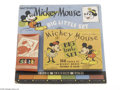 Memorabilia:Miscellaneous, Mickey Mouse Big Little Set (Walt Disney Enterprises, 1936). This rare set includes a booklet with 160 pages of Mickey Mouse...