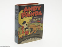 Better Little Book #1431 Andy Panda and the Mad Dog Mystery (Whitman, 1947) Condition: VF. Written and illustrated by Wa...