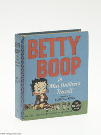"""Big Little Book #1158 Betty Boop in Miss Gulliver's Travels (Whitman, 1935) Condition: NM. Written by Wallace West """"..."""