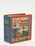 Platinum Age (1897-1937):Miscellaneous, Big Little Book #707 The Adventures of Dick Tracy the Detective(Whitman, 1933) Condition: VF/NM. Whitman sets the stage for...