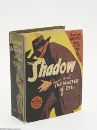Big Little Book #1443 The Shadow and the Master of Evil (Whitman, 1941) Condition: VF. Another taut Shadow tale created...