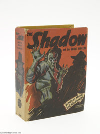 Big Little Book #1495 The Shadow and the Ghost Makers (Whitman, 1942) Condition: VF/NM. Written and drawn especially for...
