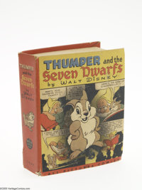 Big Little Book #1409 Thumper and the Seven Dwarfs (Whitman, 1944) Condition: FN. This cute Big Little Book combines Thu...