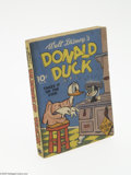 Golden Age (1938-1955):Cartoon Character, Fast-Action Story #8 Donald Duck Takes It On the Chin (Dell, 1941) Condition: FN. A 196 page Fast-Action Story book with...