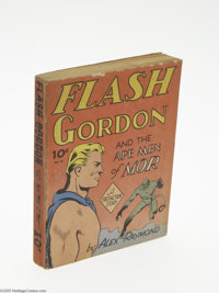 Fast-Action Story #12 Flash Gordon and the Ape Men of Mor (Dell, 1942) Condition: VG/FN. Offered here is a nice solid co...