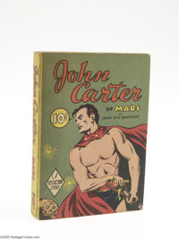 Fast-Action Story #nn John Carter of Mars (Dell, 1940) Condition: FN+. Here is one of the few successes that Edgar Rice...