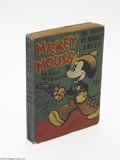 Golden Age (1938-1955):Cartoon Character, Fast-Action Story #nn Mickey Mouse The Sheriff of Nugget Gulch(Dell, 1938) Condition: FN. Fast-Action Story softcover. ...