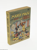 Golden Age (1938-1955):Cartoon Character, Fast-Action Story #nn Mickey Mouse with Goofy and Mickey's Nephews (Dell, 1938) Condition: VG/FN. Fast-Action Story soft...