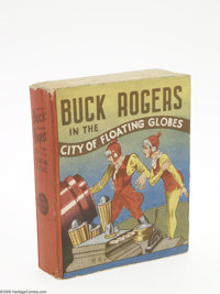 Big Little Book #nn Buck Rogers in the City of Floating Globes (Whitman, 1933) Condition: VF/NM. Cocomalt premium. One o...