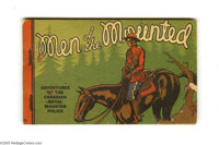 Men of the Mounted - Korlix Premium (Whitman, 1934) Condition: FN. Korlix giveaway featuring the adventures of the Canad...