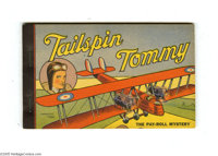Tailspin Tommy the Pay-Roll Mystery - Korlix Premium (Whitman, 1934) Condition: NM. A beautiful copy of a Korlix giveawa...