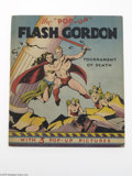 """Memorabilia:Comic-Related, The """"Pop-Up"""" Flash Gordon Tournament of Death (Blue Ribbon Books, 1935). One of the most eagerly-sought of the Blue Ribbon s..."""