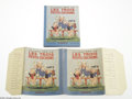 Memorabilia:Miscellaneous, Les Trois Petits Cochons with Dust Jacket - French (Hachette, 1936). French Three Little Pigs Pop-Up Book with dust jacket. ...