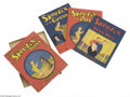 Memorabilia:Comic-Related, Little Skeezix Books Boxed Set (The Rielly & Lee Co., 1926) Condition: Average VF. This boxed set contains three Skeezix pap...