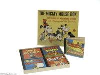 The Mickey Mouse Box (Whitman, 1939). Published by Whitman in 1939, the individual volumes featured in this boxed set oc...